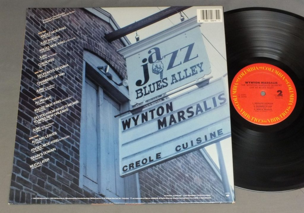 Marsalis Live Blues Alley
