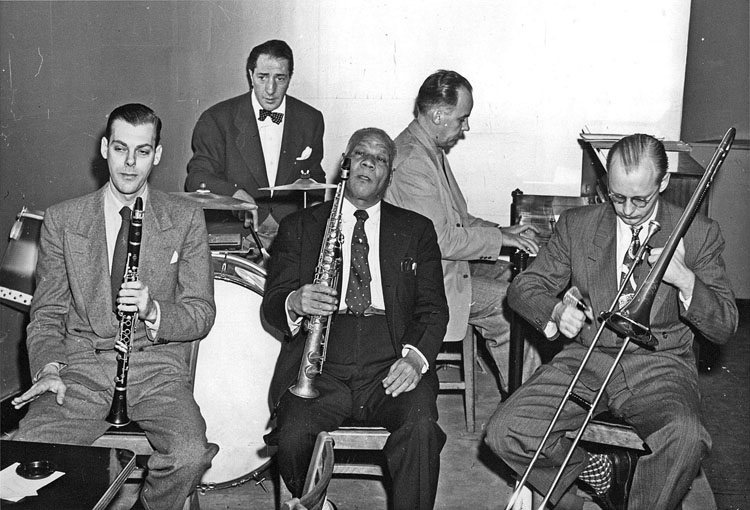 Sidney Bechet jazz band
