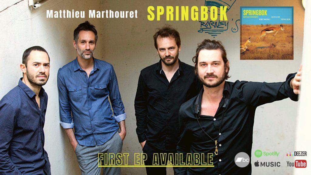 Matthieu Marthouret SPRINGBOK EP 2021