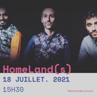 J-4 : RDV ce dimanche après-midi au @le360paris pour le premier concert de HOMELAND(S) en version «acoustique» ! @matthieumarthouretmusic : piano @antoninfresson : guitare @mosinkhankawa : tablas